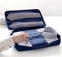 פתרון מדהים! ארגונית לחולצות מכופתרות לשמירה על חולצות ישרות, חסין מים כולל תאים נוספים לאחסון