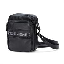 Pepe Jeans גברים - תיק צד שחור