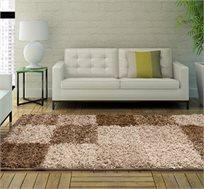 שטיח שאגי 130X70 לחדר בעל שיער גבוה ומבריק המעניק תחושה נעימה ומבודדת במיוחד ב-8 צבעים לבחירה
