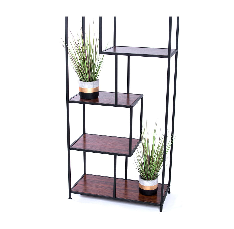 כוורת מעוצבת אי סימטרית לבית לאחסון של מגוון פריטים לסלון או לחדר העבודה  - תמונה 2