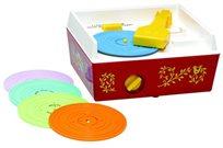 פטיפון רטרו עם 5 תקליטים