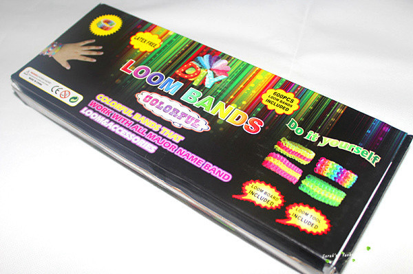 הלהיט העולמי 'loom bands' ערכה ליצירת צמידים מגומיות סיליקון צבעוניות - תמונה 5