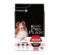 """מזון Pro Plan סנסטיב 3 ק""""ג בטעם סלמון לכלבים עם בעיות עור"""