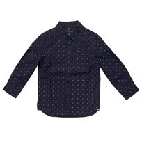 חולצת Tommy Hilfiger לילדים מכופתרת (מידות 2-14 שנים)