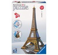 פאזל תלת מימד 216 חלקים - האייפל, פריז
