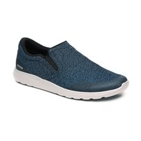 Crocs Kinsale Static Slip-on - נעלי קרוקס לגברים במראה ספורט אלגנט בצבע נייבי