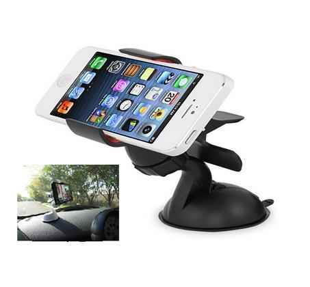 מעמד אוניברסלי לרכב בעל קליפס סיליקון המאפשר אחיזה של כל הסמארטפונים ומכשירי ה-GPS - תמונה 3