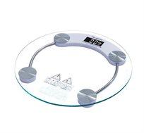 משקל דיגיטלי עם זכוכית מחוסמת בטכנולוגיה שוויצרית עם חיישן קליטה לתוצאות מדויקות FIX
