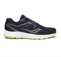 נעלי ריצה לגבר Saucony דגם רחב GRID COHESION 11 בצבע כחול כהה