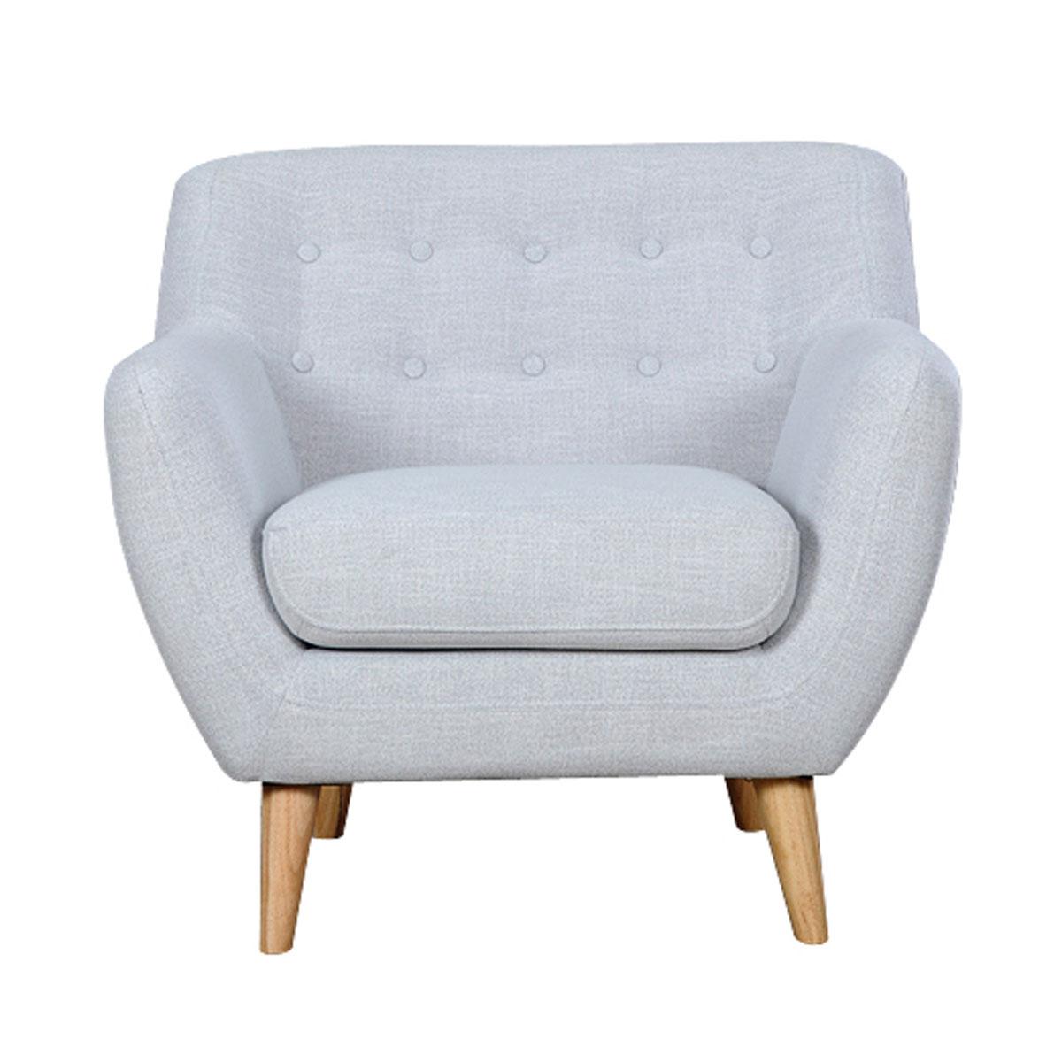 כורסא מרופדת בעיצוב מודרני דגם PICASSO במגוון צבעים BRADEX - תמונה 3