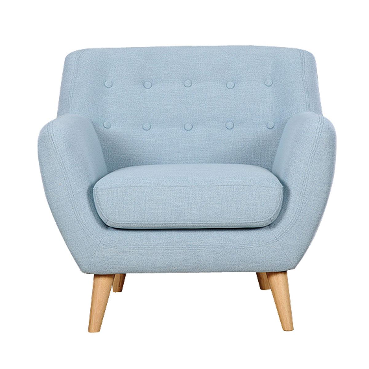 כורסא מרופדת בעיצוב מודרני דגם PICASSO במגוון צבעים BRADEX - תמונה 2