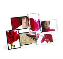מסגרת ל-6 תמונות בעיצוב נקי ואלגנטי