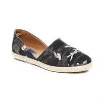 Verbenas Dorsay - נעלי סירה שטוחות מעור בצבע אפור מרנגו