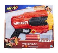 תותח צעצוע היורה חיצים מספוג נרף MEGA TRI BREAK