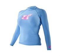 חולצת לייקרה Basic שרוול ארוך לנשים במגוון מידות BODY GLOVE - משלוח חינם