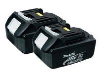 2 סוללות מקיטה Makita BL1830-2 18-Volt 3.0 AH Battery