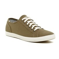 Keds - נעלי סניקרס צמפיון בעיצוב קלאסי בצבע ירוק זית