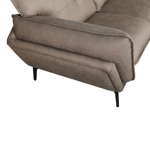 ספה רחבה 3 מטר מעוצבת עם קפיצים מבודדים ובד רחיץ דגם מונקו HOME DECOR - תמונה 8