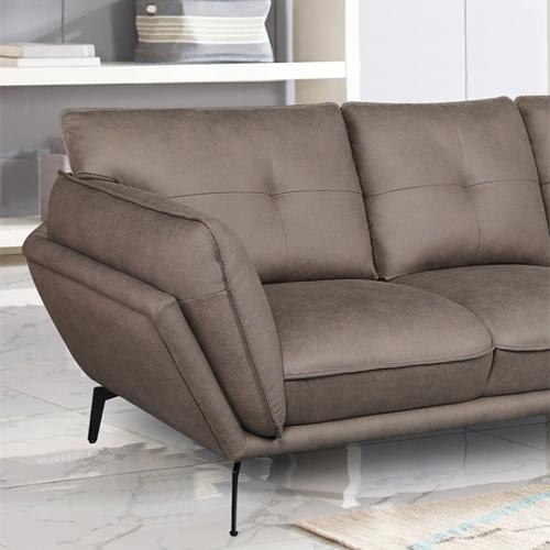 ספה רחבה 3 מטר מעוצבת עם קפיצים מבודדים ובד רחיץ דגם מונקו HOME DECOR - תמונה 7