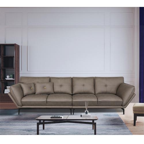 ספה רחבה 3 מטר מעוצבת עם קפיצים מבודדים ובד רחיץ דגם מונקו HOME DECOR - תמונה 6