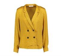 חולצת Promod לנשים בצבע קאמל