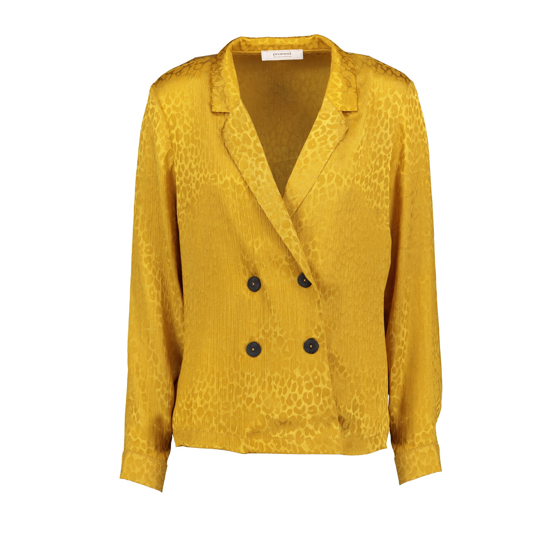 חולצת Promod לנשים - קאמל