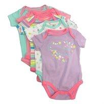 PUMA / פומה 5 בגדי גוף (9-0 חודשים) - טורקיז