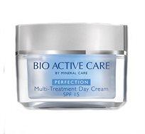 """קרם יום עשיר מהסדרה Perfection עם מקדם הגנה SPF15 מכיל 50 מ""""ל Bio active care"""