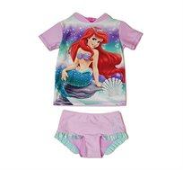 בגד ים חולצה ותחתון לתינוקות וילדים בת הים הקטנה אריאל