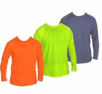 מידות אחרונות! סט 3 חולצות דריי פיט ארוכות ב-3 צבעים שונים לבחירה, המלאי מוגבל! משלוח חינם!