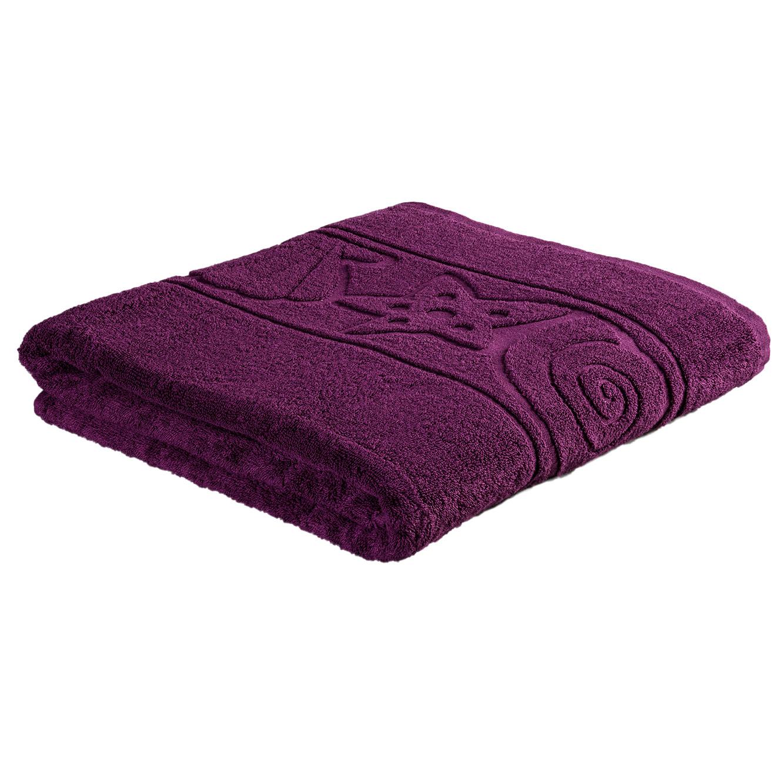 מגבת אורח רכה ומפנקת בעיטור בדוגמת צדפים במגוון צבעים לבחירה מגבות ערד - תמונה 4
