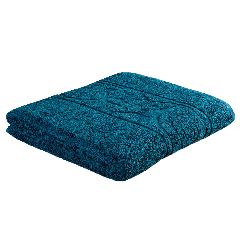 מגבת אורח רכה ומפנקת בעיטור בדוגמת צדפים במגוון צבעים לבחירה מגבות ערד - תמונה 3
