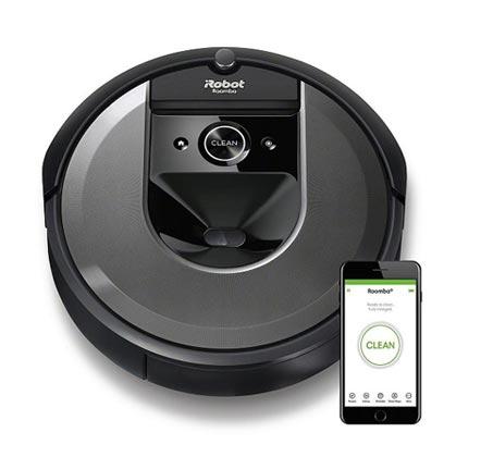 שואב אבק רובוטי iRobot דגם Roomba i7