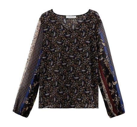 חולצת מלמלה לנשים PROMOD בסגנון בוהמי