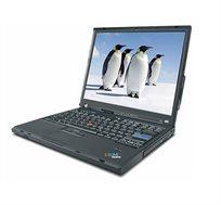 """מחשב נייד """"14.1 Lenovo מעבד C2D 1.8 Ghz, זכרון 2GB ,דיסק 120GB"""