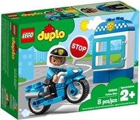 לגו אופנוע משטרתי