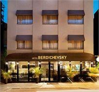 """לילה זוגי מפנק בסופ""""ש במלון 'ברדיצ'בסקי' בתל אביב החל מ-₪659 לזוג ללילה"""