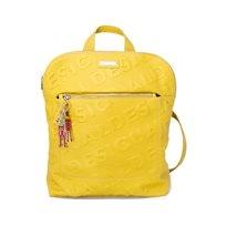 Desigual Bols Colorama Nanaimo - תיק גב מרובע בצבע צהוב