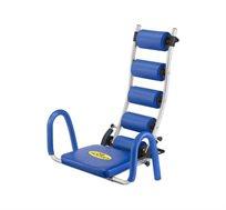 מכשיר לעיצוב וחיטוב שרירי הבטן AB Rocket בעל תמיכה אורטופדית לגב ולצוואר