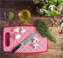 משטח דקורטיבי לחיתוך והגשה למטבח במגוון צבעים לבחירה