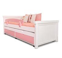 מיטת יחיד מעץ מלא במגוון צבעים לבחירה דגם עומרי