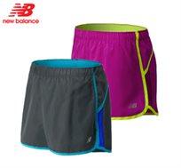 מכנסי ריצה מקצועי לנשים דגם WRS2338 מבית New Balance, מנדף זיעה עשוי 100% פוליאסטר