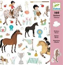 יצירה - 160 מדבקות סוסים - Djeco