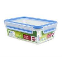 קופסת פלסטיק אטומה 1 ליטר