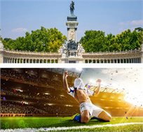 3 לילות במדריד כולל כרטיס למשחק ריאל מדריד מול סיביליה רק בכ-€554*