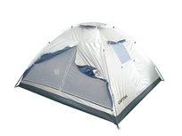 אוהל DOME ל-4 אנשים עשוי אריג כסוף דוחה שמש מבית CAMPTOWN