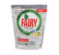 3 מארזי טבליות למדיח Fairy Platinum בכל מארז 37 יחידות