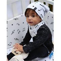 Babymitmit כובע דו צדדי לתינוק - Happy Music