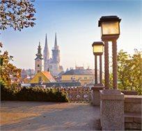 טיסה לזאגרב-קרואטיה ל-7 לילות רק בכ-$292*