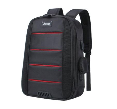 תיק גב JEEP למחשב נייד - שחור